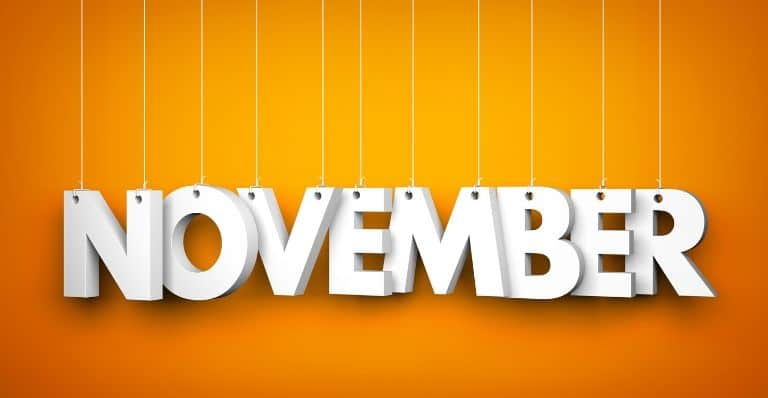 Promotional Products for November